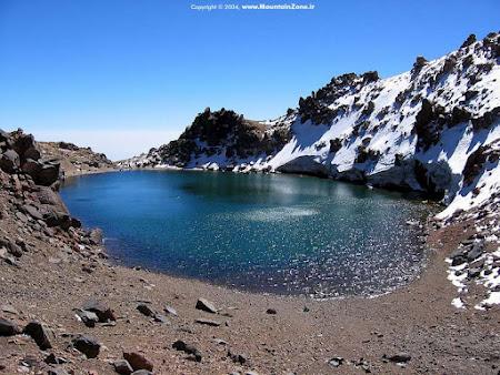 Iran Sabalan crater lake