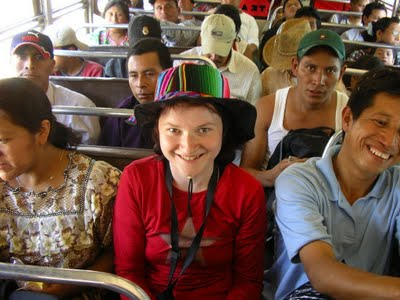 Guatemala: bus trip
