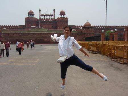 Delhi: visiting Red Fort