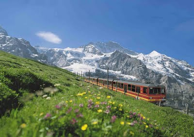 Train: Interlaken Jungfraubahn