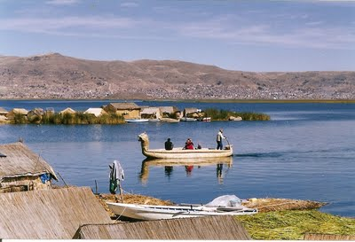 Things to do in Peru: take a boat on Titicaca