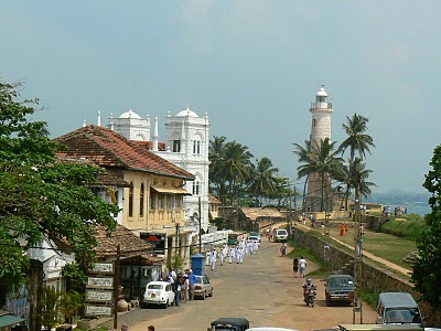 Sights of Sri Lanka: colonial town