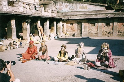 Things to do in Nepal: visit the sadhu at Pashupatinath Hindu temple